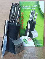 Набор ножей 6 в 1 GREEN LIFE GL-E0065
