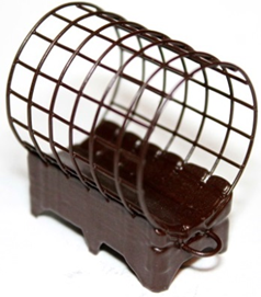 Кормушка фидерная GRIZZLY L 30/39 с грунтозацепами, 120 грамм, фото 2