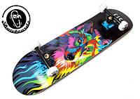 Скейт | Скейтборд Фиш Волк | Fish Skateboards Wolf 2018