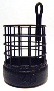 Кормушка фидерная ПУЛЯ GRIZZLY L 30/39, 40 грамм, фото 2