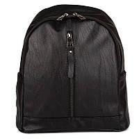 Черный женский рюкзак из экокожи Seven (0303 black), фото 1