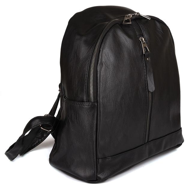 женский городской рюкзак черный