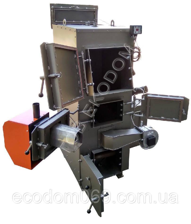 Мощный пиролизный котел DM STELLA 50 квт