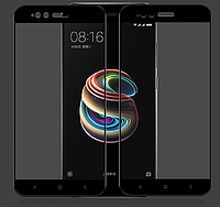 Защитное стекло 3D Premium Tempered Glass Full Screen для Xiaomi Mi A1 / mi 5x Чёрное, фото 1
