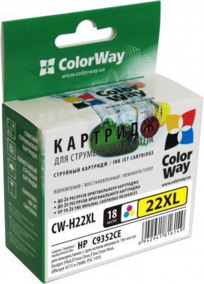 Картридж ColorWay CW-H22XL