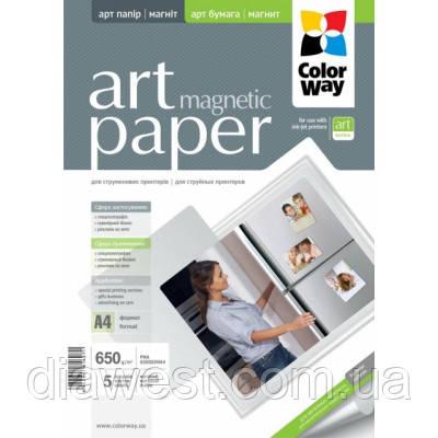 Бумага для принтера/копира ColorWay PMA650-005 A4 (PMA650005MA4)