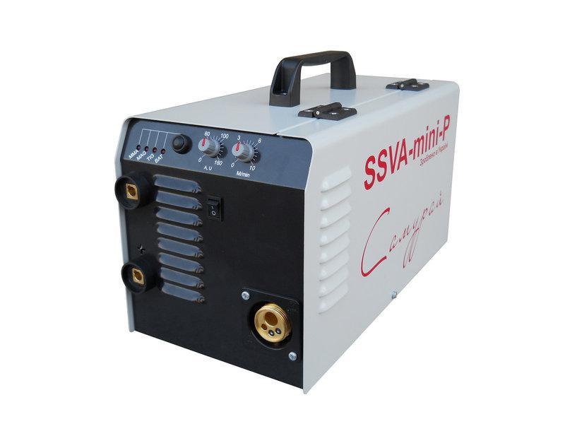 Сварочный инверторный полуавтомат SSVA-MINI-Р «САМУРАЙ» с горелкой MB 15 Parweld