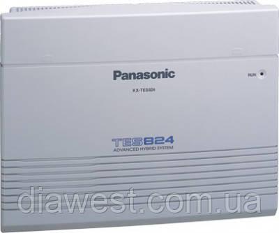Мини-АТС (базовый блок) Panasonic KX-TES824