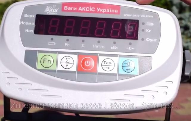 Весы товарные для взвешивания мешков серии BDU «БЮДЖЕТ»