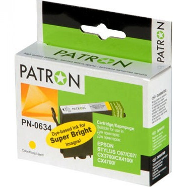 Картридж Patron CI-EPS-T06344A-Y-PN