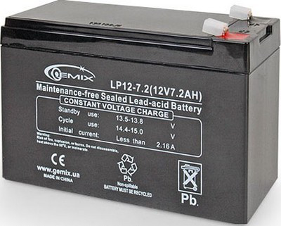 Аккумулятор для ИБП Gemix LP12-7.5