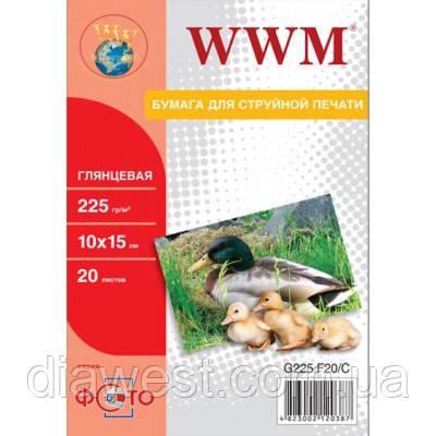 Бумага для принтера/копира WWM G225.F20/ G225.F20/С