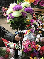 Искусственные цветы разные цвета в упаковке, фото 1