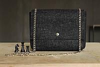 """Жіноча сумка з фетру """"Dense5"""" сумка ручної роботи від української майстерні PalMar, сумка с войлока, фото 1"""