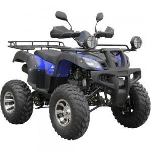 Квадроцикл SP175-1A(чёрный,синий)