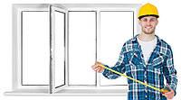 Замер оконных, балконных и дверных проемов