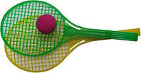 Теннис большой (2 рак.+мяч порол.) в сетке Максимус /25/(5186)