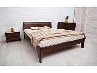 Кровать Сити без изножья с филенкой 200*200 бук Олимп, фото 1