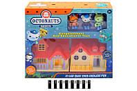 """Набор игрушек """"Octonauts"""" с домиком в кор. 35*30*8 см. /36/(TM6625)"""