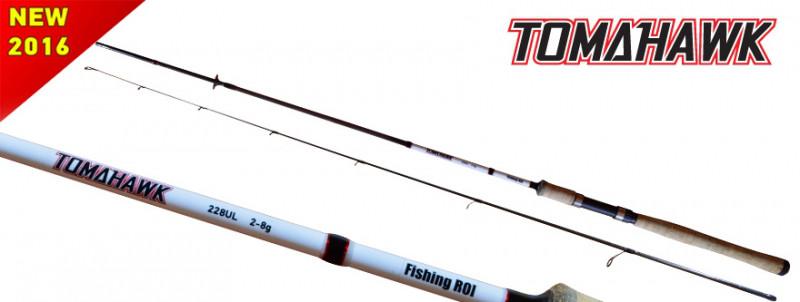 Спиннинг Fishing ROI Tomahawk 2-8g 2.10m