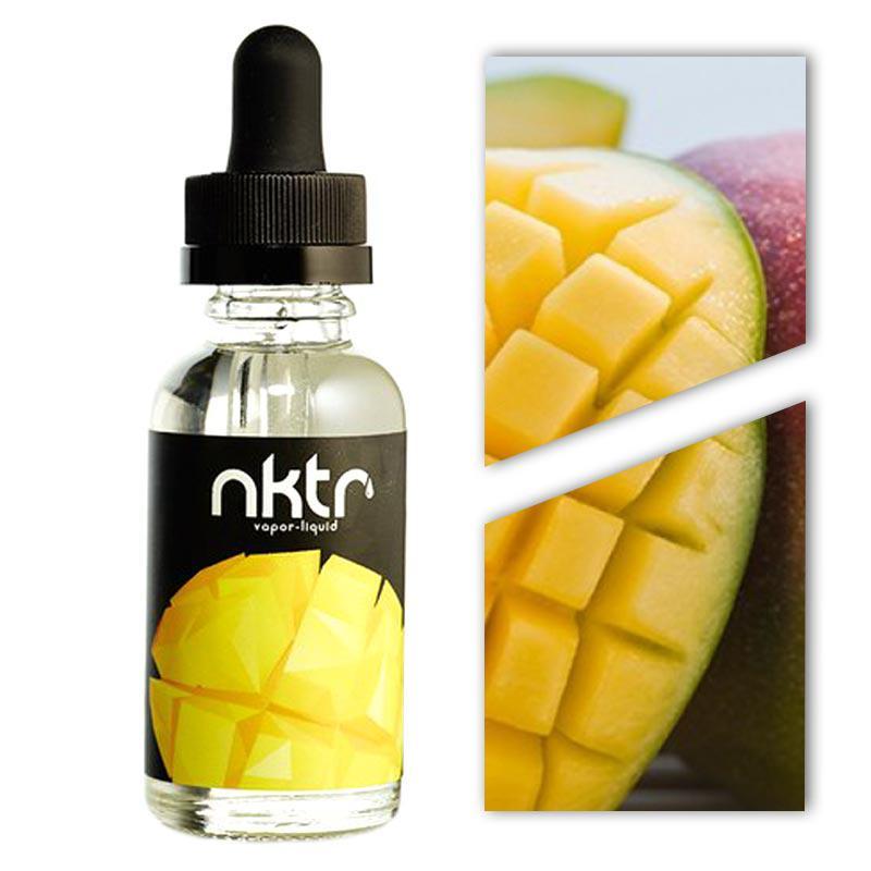 Жидкость для электронных сигарет NKTR Mango 3 мг 30 мл Манго