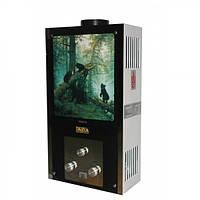 Газовая колонка Darya JSD 10 GT 19 LCD Медведи газовый проточный водонагреватель