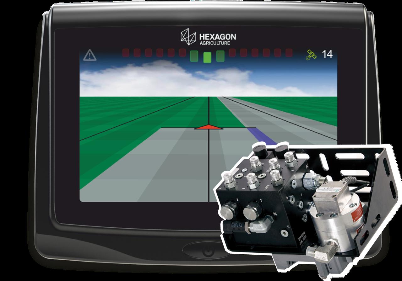 Система автоматического вождения  (автопилот) Hexagon на CLAAS