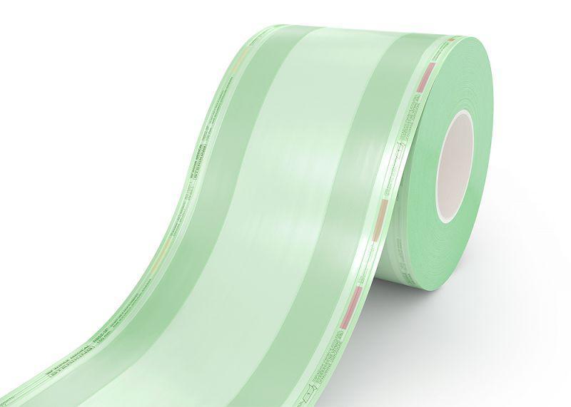 Рулон со складкой  для стерилизации Steriking 200 мм x 55 мм х 100 м