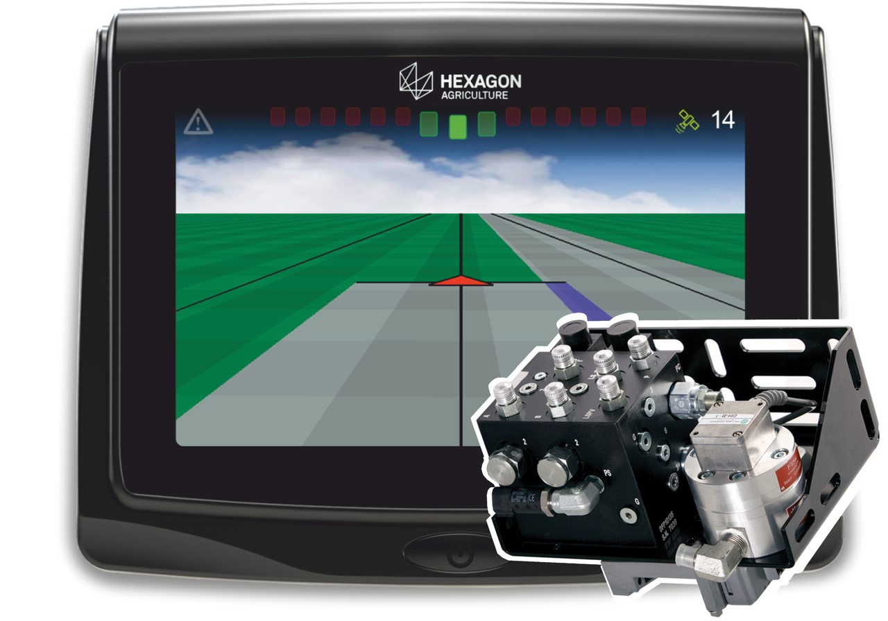 Система автоматического вождения  (автопилот) Hexagon на МТЗ