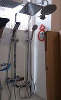 Душевая стойка с термостатом. Преимущества