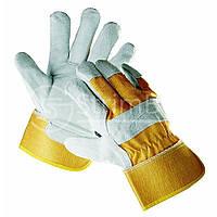 Перчатки спилковые комбинированные Cerva Eider