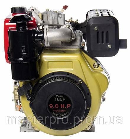 Двигатель дизельный Zubr 186F