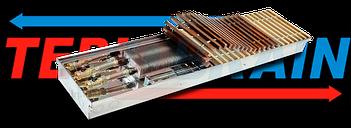 Внутрипольные конвекторы с вентилятором