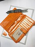 Женский кошелёк из масляной кожи, фото 2