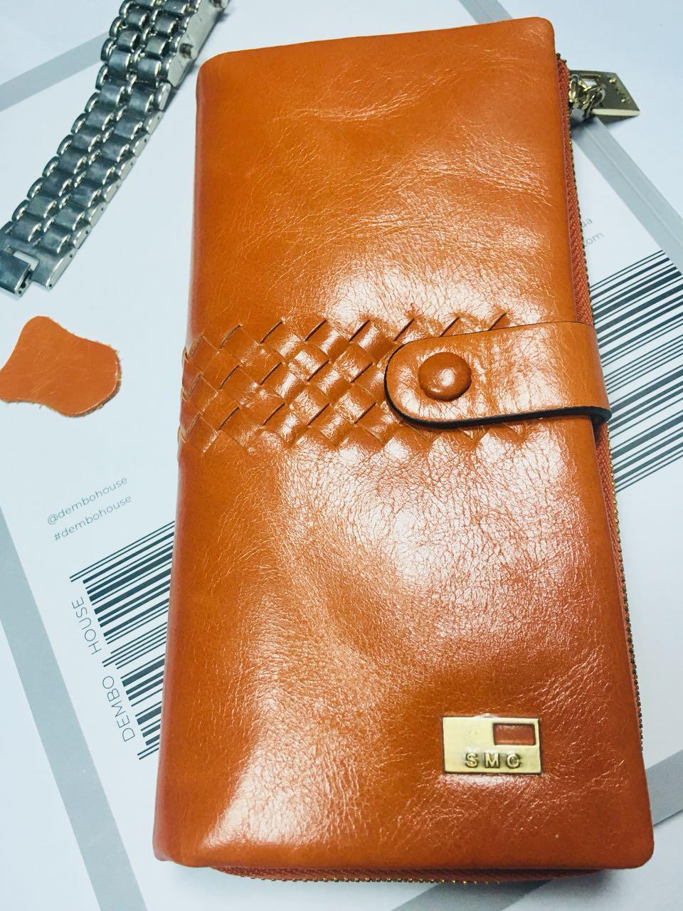 Женский кошелёк из масляной кожи
