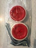 Колеса вспомогательные Lumari для детского велосипеда красные