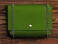 """Жіноча сумка з фетру """"Dense7"""" сумка ручної роботи від української майстерні PalMar, сумка с войлока, фото 1"""
