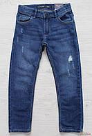 Джинсы светло-синего цвета с потертостями для мальчика (116 см.) Tiffosi 2125000535081