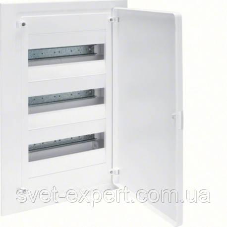 Щит Hager в/у з білими дверцятами, 36 мод. (3х12), GOLF