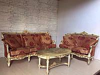 Комплект мягкой мебели в стиле барокко венециано