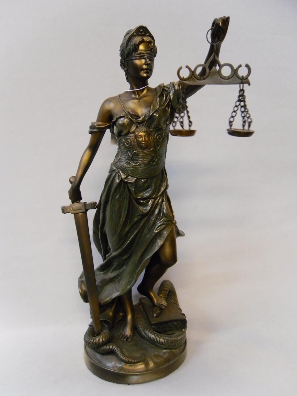 """Статуэтка """"Фемида"""" богиня правосудия"""""""