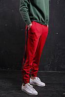Мужские спортивные штаны красные бренд ТУР модель Rocky