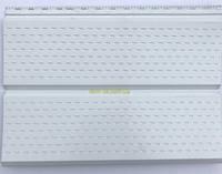 Сайдинг доска перфорированный металлический цвет белый RAL 9003 0,43 мм Китай