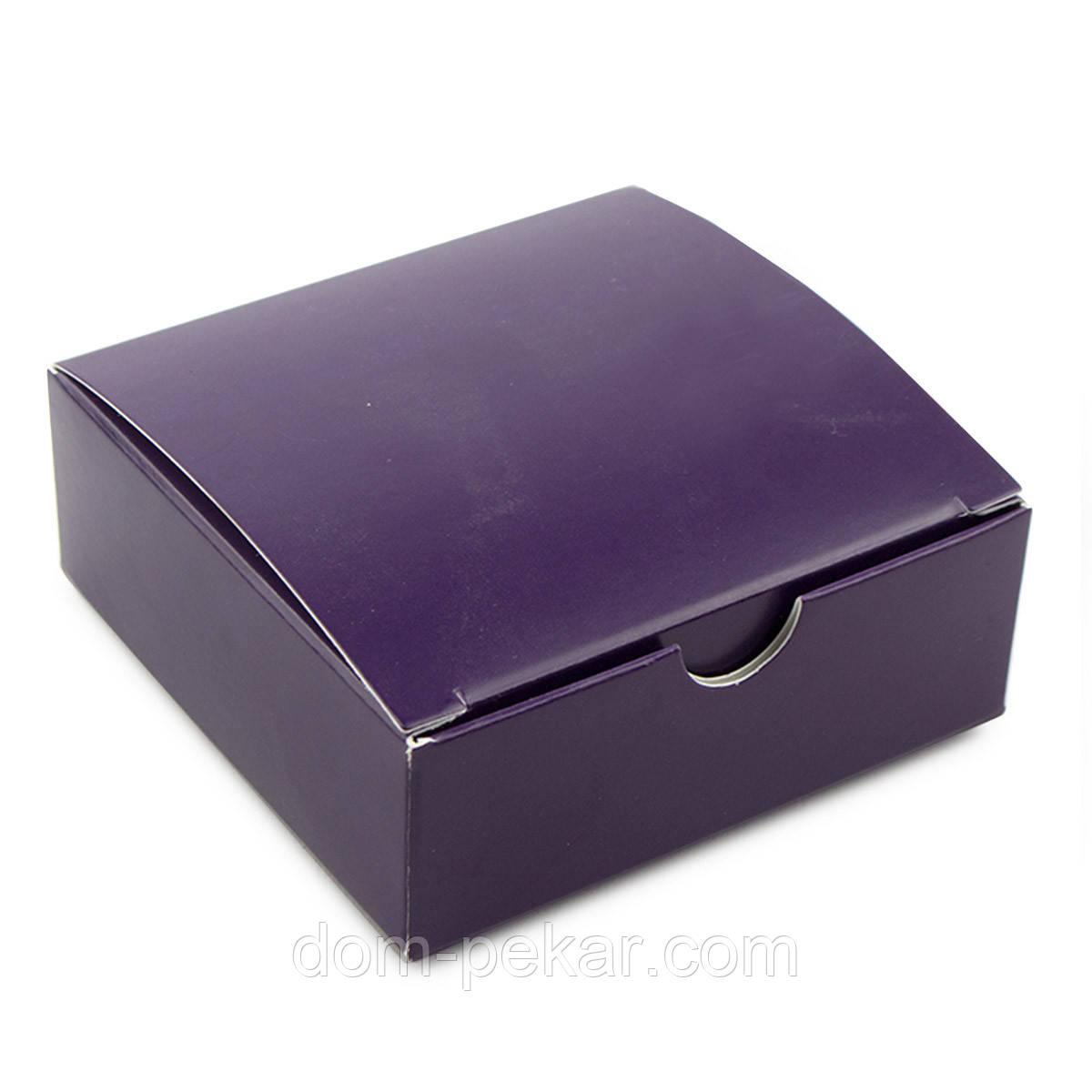 Упаковка универсальная-мини 83*83*30мм Фиолетовая