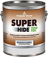 Акриловая краска на водной основе Super Hide Benjamin Moore, яичная скорлупа, 0.946л