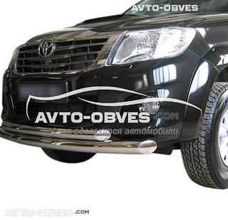 Защитная дуга двойная Toyota Hilux 2006-2011