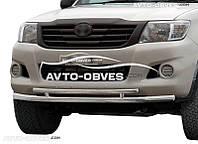 Защита бампера Toyota Hilux 2006-2011