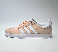 Кроссовки женские Adidas Gazelle Vapor Pink (адидас, реплика) (реплика)