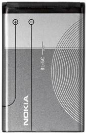 Аккумулятор для мобильных телефонов Nokia BL-5C