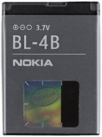 Аккумулятор для мобильных телефонов Nokia BL-4B